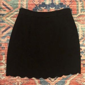 Club Monaco Scalloped Skirt - Won Once